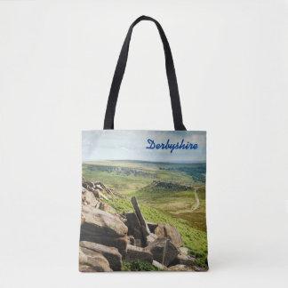 Hathersage Moor Peak District photo Tote Bag
