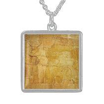 Hathor 1 sterling silver necklace