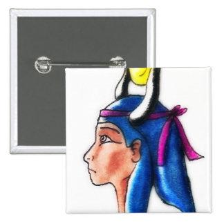 Hathor 2 Inch Square Button