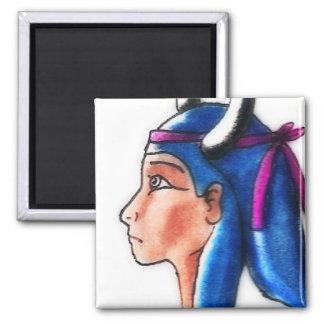 Hathor 2 Inch Square Magnet