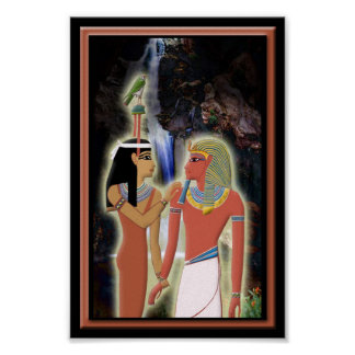 Hathor and Horemheb Poster