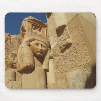 Hathor column - Queen Hatshepsut's Temple, egypt Mouse Pad