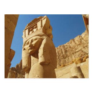 Hathor - diosa del amor y de la música, EGIPTO Postal