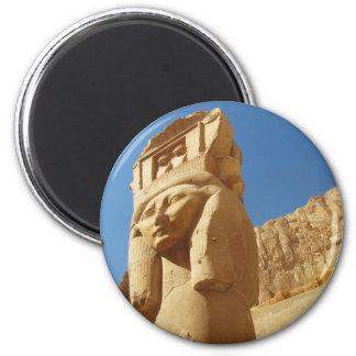 Hathor - goddess of love and music, EGYPT 2 Inch Round Magnet