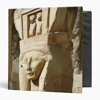 Hathor-headed column, from the Chapel of 3 Ring Binder