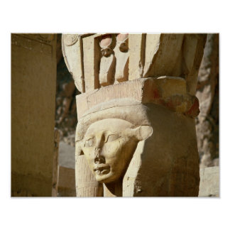 Hathor-headed column, from the Chapel of Poster