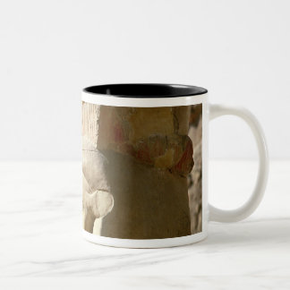 Hathor-headed column, from the Chapel of Two-Tone Coffee Mug