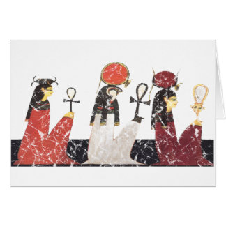 Hathor,Ra and Selkis Card