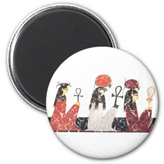 Hathor,Ra and Selkis Magnet