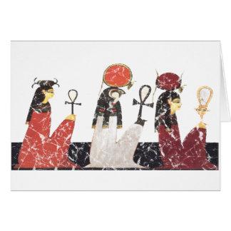Hathor, Ra y Selkis Tarjeta De Felicitación