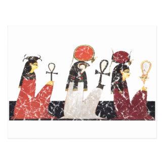 Hathor, Ra y Selkis Tarjeta Postal