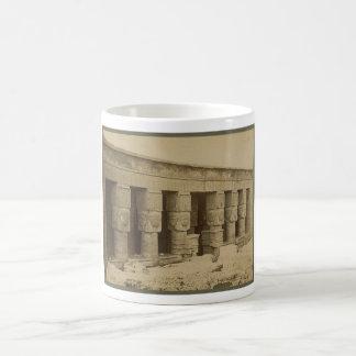 Hathor Temple, Egypt circa 1867 Coffee Mug