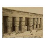 Hathor Temple, Egypt circa 1867 Post Card