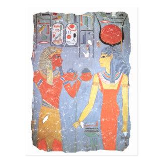 Hathor y Horemheb Tarjetas Postales