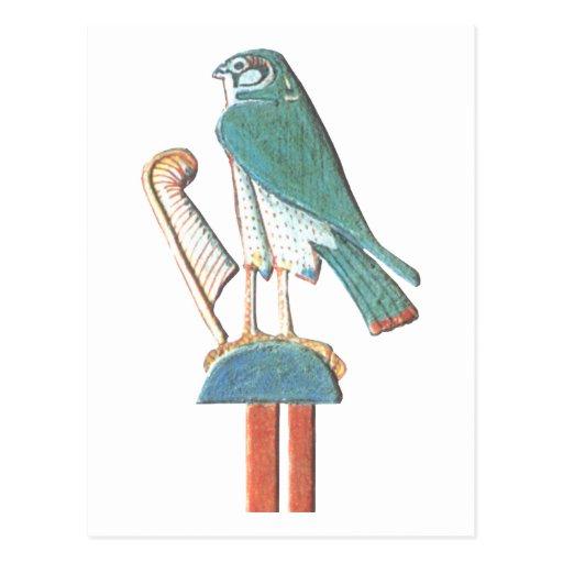 Hathor's headdress postcard