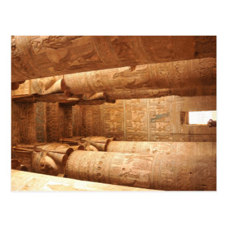 Hathor's temple postcard