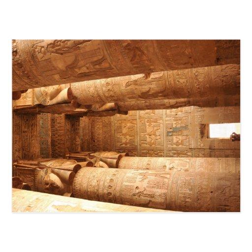Hathor's temple postcards