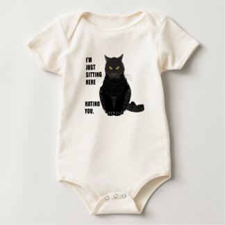 Hating You Baby Bodysuit
