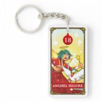 Hatoful Advent calendar 18: Anghel Higure Keychain