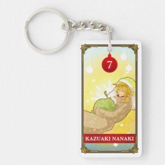 Hatoful Advent calendar 7: Kazuaki Nanaki Double-Sided Rectangular Acrylic Keychain