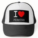i [Love heart]  pirates i [Love heart]  pirates Hats