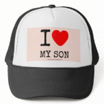 i [Love heart]  my son i [Love heart]  my son Hats