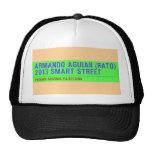 armando aguiar (Rato)  2013 smart street  Hats