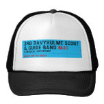 3rd Davyhulme Scout & Guide Band  Hats