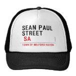 Sean paul STREET   Hats
