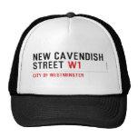 New Cavendish  Street  Hats