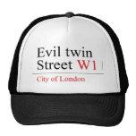Evil twin Street  Hats