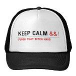 Keep calm  Hats