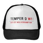 TEMPER D  Hats