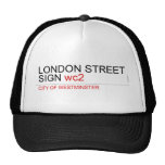 LONDON STREET SIGN  Hats