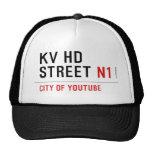 KV HD Street  Hats
