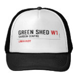 green shed  Hats