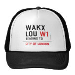 WAKX LOU  Hats