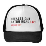 Creases Out Eaton Road  Hats