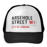 Arsehole Street  Hats