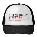 Stefan Bailey Street  Hats