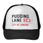 PUDDING LANE  Hats