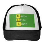 Game Letter Tiles  Hats
