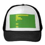 AEILNORSTU DG BCMP FHVWY K   JX  QZ  Hats