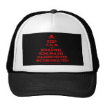 [Skull crossed bones] keep calm and schlemiel, schlimazel, hasenpfeffer incorporated!  Hats