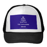 [Crown] keep calm and watch the walking dead  Hats