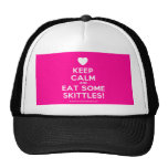 [Love heart] keep calm and eat some skittles!  Hats