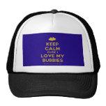 [Two hearts] keep calm cuse i love my bubbies  Hats