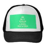 [Crown] bly kalm dis amper lang- naweek  Hats