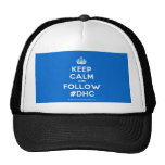 [Crown] keep calm and follow #dhc  Hats