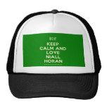 [UK Flag] keep calm and love niall horan  Hats